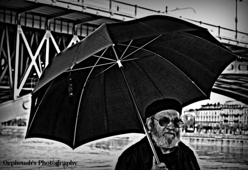 Man in Black Taken in Budapest, Hungary 2012 © Orpheush's Photography