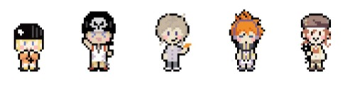 icomposer:  Custom TWEWY Sprites The image I'm using for my tumblr background. :3