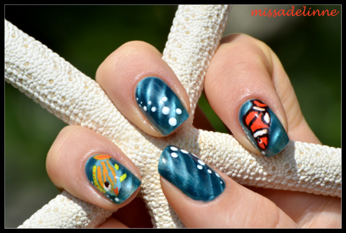 Fish and Bubbles now on www.missadelinne.com