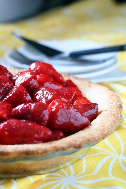 gastrogirl:  fresh strawberry pie.