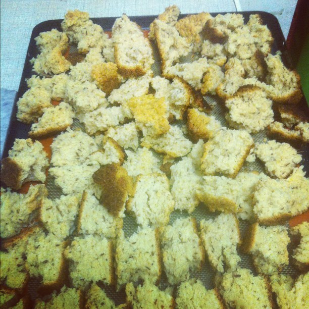 Caraway seed rusks. Mom's recipe aka The Best Rusks Ever (Taken with instagram)