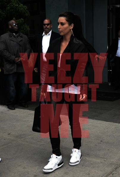 realityandotherdrugs:  Yeezy taught u well…lol