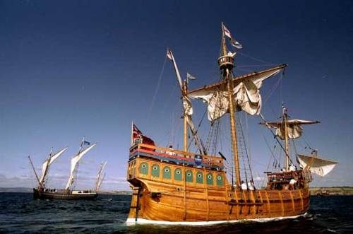 "The Matthew, a replica of the 15th century ship sailed by John Cabot from Bristol, England to Newfoundland, arrives in Douarnenez, France after recreating the return leg of that voyage (except the original Matthew went back to Bristol) with the sponsorship of Crest Homes in this file photo taken August 13, 1998. Photograph by: Clive Mason , Allsport An Italian historian has unveiled a previously unknown document that sheds fresh light on explorer John Cabot's discovery of Canada - a brief entry in a 516-year-old accounting ledger that shows Cabot had financial backing from a Florence-based bank in England and, most intriguingly, may have had prior knowledge of the distant land his famous 1497 voyage would put on the world map. (via New evidence suggests Cabot knew of new world before Columbus's voyage) University of Florence history professor Francesco Guidi-Bruscoli, working closely with two British researchers and funded largely by a Canadian benefactor, has now pieced together the full story of Cabot's Italian financing and published his findings in the scholarly journal Historical Research. At the heart of Guidi-Bruscoli's discovery is a long-overlooked accountant's notation in records held by a Florentine archive detailing a loan of ""nobili 50"" - 50 nobles sterling, or about 16 English pounds - to ""Giovanni Chabotte viniziano"" (John Cabot of Venice) ""a trovare il nuovo paese"" (to find the new land). Did Cabot already know about ""the land"" he was supposedly setting off to find? And is it possible that other sailors from England, where Cabot had moved to pursue his dream of overseas exploration, had previously visited ""the new land"" of North America - perhaps even before Christopher Columbus's voyage to the Caribbean Islands in 1492 and that epoch-making ""discovery"" of the New World? The clue, says Jones, is the ledger's reference to Cabot's goal being ""the"" new land rather than the indefinite ""a"" or some other less precise phrasing. ""The use of the definite article in 'the new land' is tantalizing,"" Jones told Postmedia News by email. ""And this isn't just a translation issue - the implication is the same in the Italian, 'il nuovo paese.' ""I think we can be pretty certain that 'the new land' doesn't refer to the land Columbus had found - given that the royal patent Cabot was granted was pretty clear about excluding these territories,"" added Jones. ""So, I think the reference must indicate that the Bardi believed that Cabot was going off to discover/rediscover a land already known about. The use of 'new' suggests it was a land which had been found relatively recently - so this can't be a reference to the Norse voyages."" The discovery of the New World, so momentous in global history, remains a contentious field of study. Scientists disagree over the timing and origins of the original peopling of the Western Hemisphere by the ancestors of today's aboriginal nations of North and South America. And while it's now accepted that Viking voyagers reached the northern tip of Newfoundland around the year 1000 - leaving faint traces of their brief presence at L'Anse aux Meadows, a UNESCO World Heritage Site - the European ""rediscovery"" of the Americas in the late 15th century is not so straightforward. The most compelling clue is a two-page letter in Spanish - only found in the 1950s, and believed to have been sent to Columbus in 1498 by a mysterious English merchant and spy named John Day - that contains this startling statement about Cabot's recently completed 1497 voyage to Newfoundland: ""It is considered certain that the cape of the said land was found and discovered in the past by the men from Bristol, who found 'Brasil' as your Lordship well knows. It was called the Island of Brasil, and it is assumed and believed to be the mainland that the men from Bristol found."" The late British historian David Quinn, a dean of discovery scholarship, argued that the Day letter provided ""a rational case for placing the English discovery of America in the decade before Columbus sailed in 1492, and possibly as early as 1481."" Quinn concluded the likeliest such discovery could have been made during a 1481 voyage organized by four Bristol men - Thomas Croft, William Spenser, Robert Straunge and William de la Fount - who had equipped ships named the George and the Trinity ""to serch & fynde a certain Isle called the Isle of Brasile."" Before she died in 2005, [Alwyn] Ruddock had produced a detailed outline for a planned book about Cabot that suggested she had unearthed major new findings the explorer's expeditions to Canada and the possibility of earlier English voyages to North America. Bizarrely, Ruddock ordered her research notes destroyed upon her death. But Jones has led the effort to reconstruct and rediscover Ruddock's evidence - even gaining permission to search through her house - and recently found documents confirming her hint about the key role played in the Cabot-era voyages by the little-known Bristol sailor William Weston."