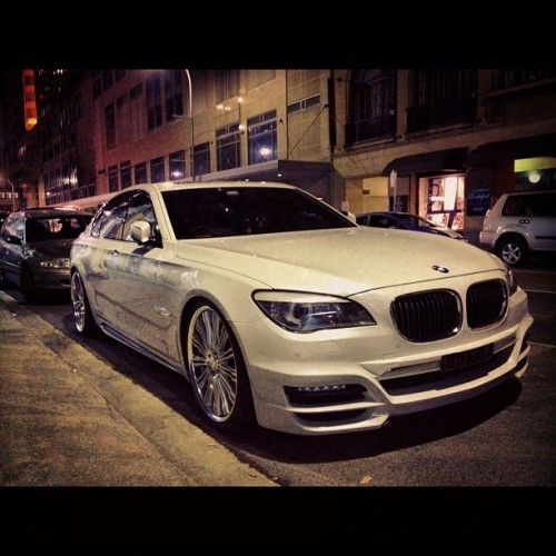 Another gorgeous Beemer spotted street parked in the city #bmw (Taken with instagram)
