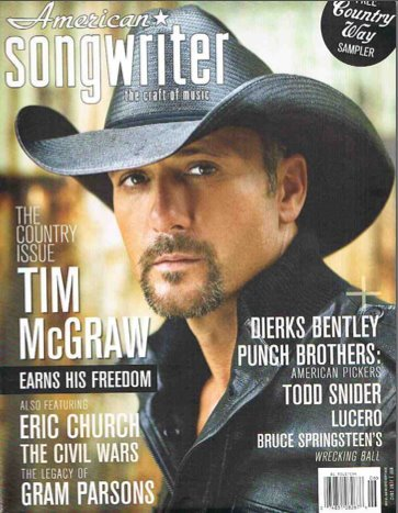 Tim will be featured on the cover of next month's American Songwriter Magazine!  Stay tuned for the issue!