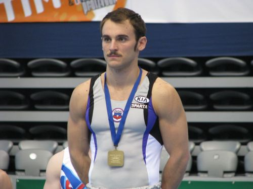 Chilean Gymnast - Tomas Gonzalez is bringing in the medals right now
