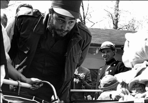 Alberto Korda. Fidel and Toddler.
