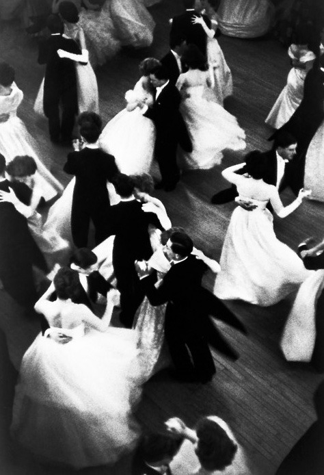 Dance The Night Away [by Henri Cartier-Bresson, 1959]
