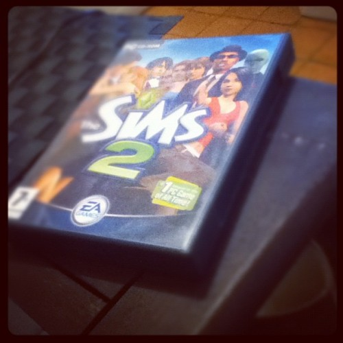 #sims2 #game #childhood #boredom (Taken with instagram)