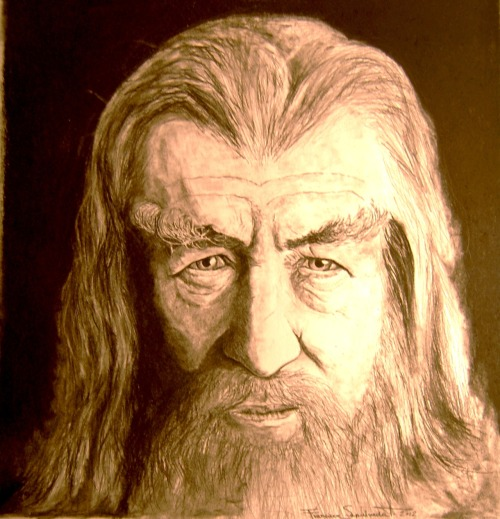 Sir Ian McKellen (made by me, hope its of your liking :)