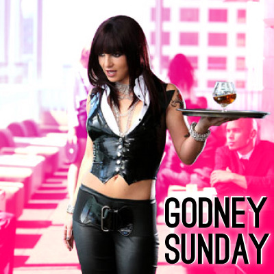 It's Godney Sunday! And you know what that means, don't you? A day full of music and videos from Our Holy Spearit, the one and only Ms. Britney Spears. Bow down, ya'll!