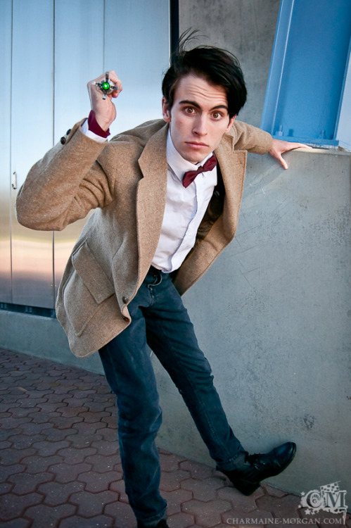 Me as the Eleventh Doctor for the anon… Hope this is sufficient.