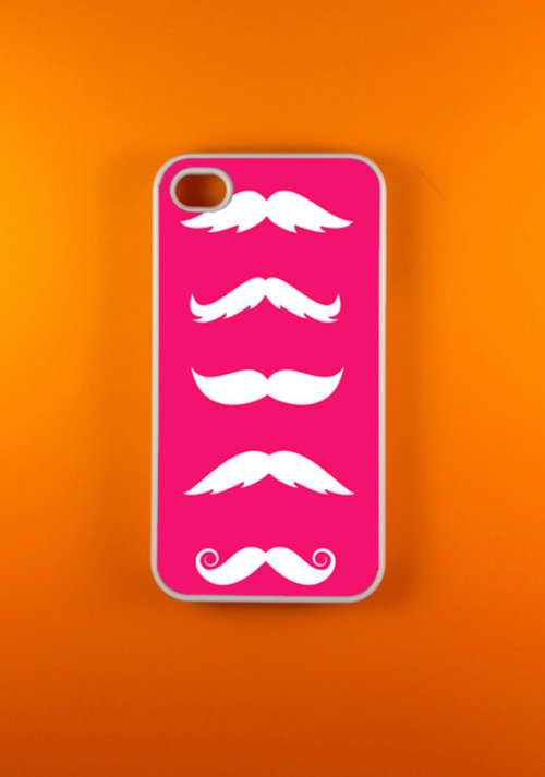 Mustache Iphone 4 Case, Iphone 4s Case