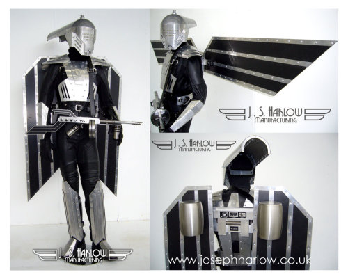 Deco Flight Suit by ~joeharlow This was my 3rd year final major project.I designed and built these props taking inspiration from the rocketeer, boba fett, iron man, issac clarke, big daddys, 1930's streamline, art deco etc.Mainly made out of aluminium, fibreglass, and stainless steel.