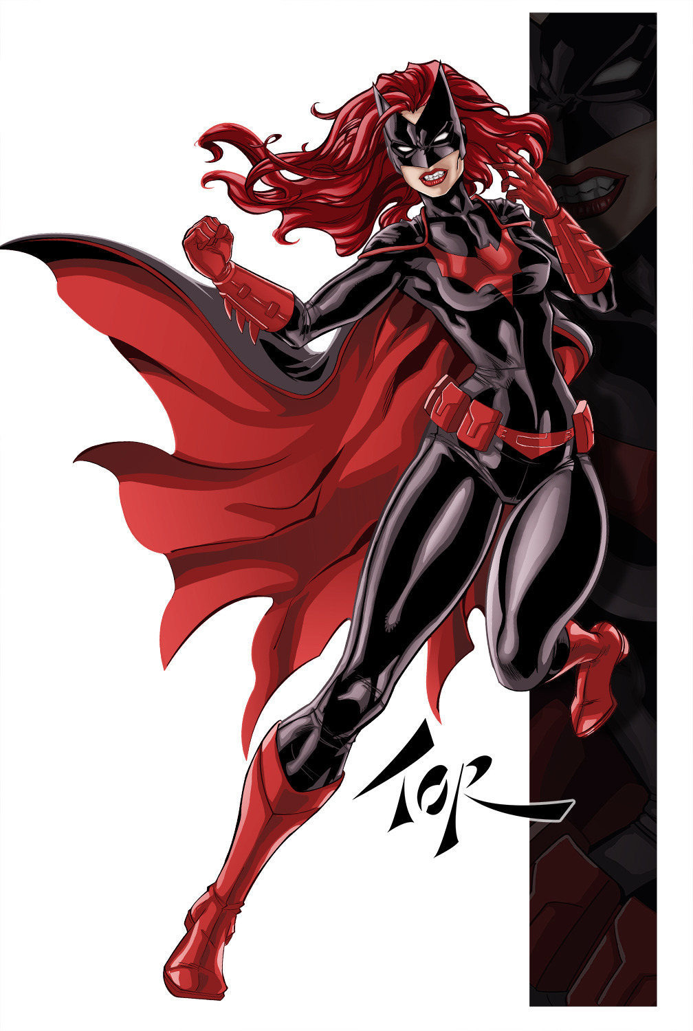 dcplanet:  Revenge of the Batwoman Art by torsor