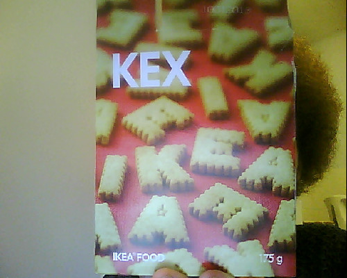 Ikea biscuits.