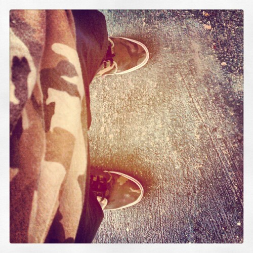 Camo+Camo ready pal #alleycat (Taken with instagram)