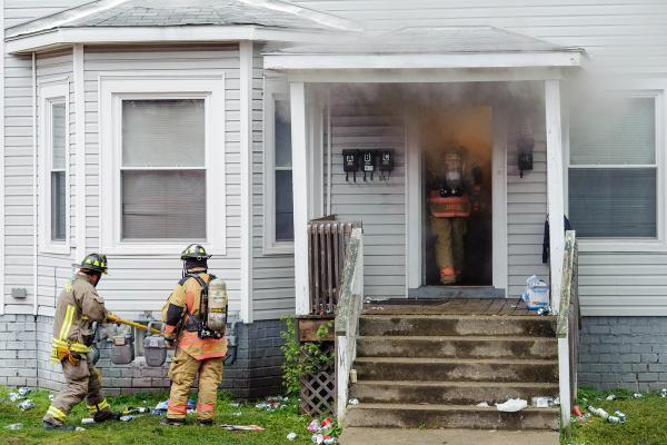 House Fire - Palmer Fest, Athens Ohio 2012