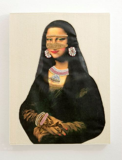 Mona Lisa goes Khaleeji