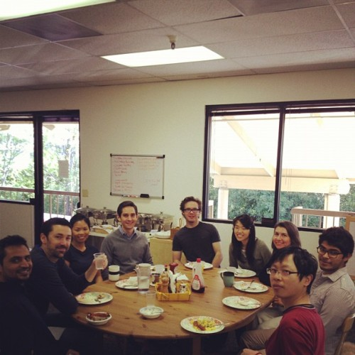 Last day with the team. One final celebreakfast.  (Taken with instagram)