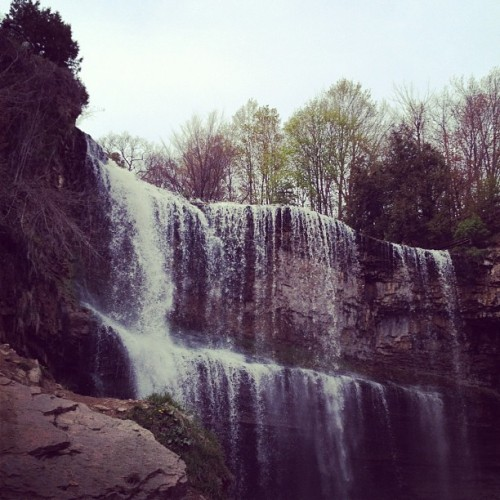 Back in Canada. Picnic by webster's falls.  (Taken with instagram)