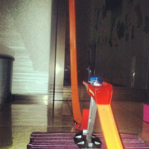 #track #assembled #hotwheels #bigairjump (Taken with instagram)