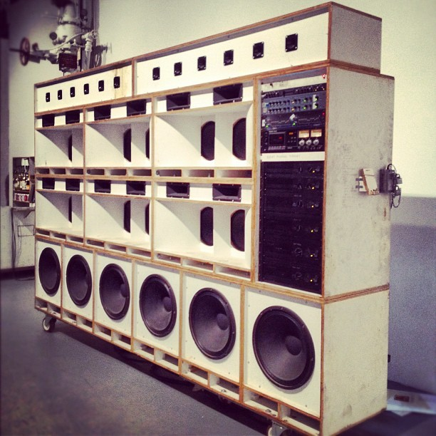 Boom Box at the #MOCA (Taken with Instagram at The Geffen Contemporary at MOCA)