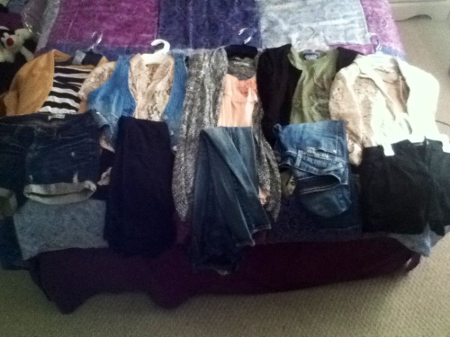 My outfits for the week!  Sorry I didn't post one last week, I found no point to dress nice since I was going to be stuck in one class for the whole day. I didn't wanna post boring outfits. This week is different though! So enjoy, and I'm still open to any fashion advice or questions :)