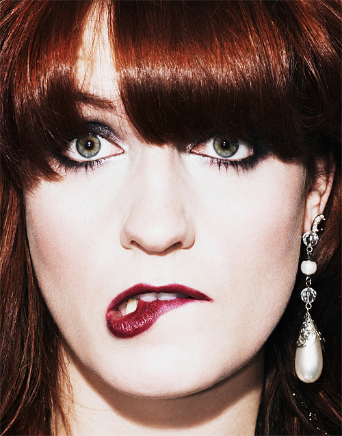magicblood:  Florence Welch photographed by Paul Farrell
