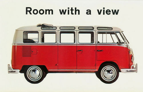 kapamarci:  Volkswagen Microbus Postcard by aldenjewell on Flickr.