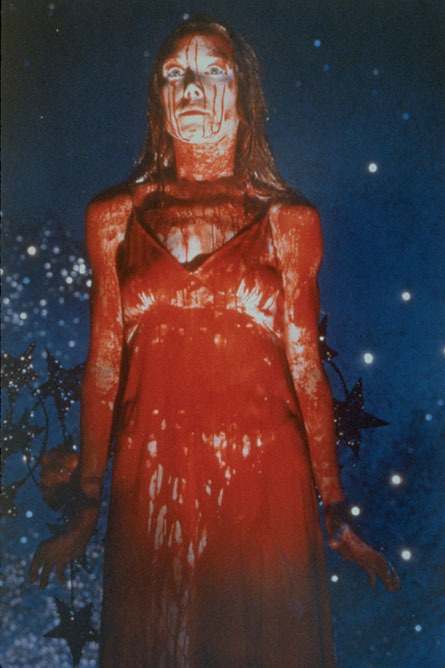 rftstars:  Sissy Spacek  is  'Carrie'    1976  Morning, friends. It's going to be a bloody good day on Fresh Air.