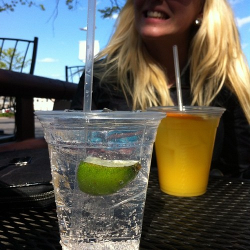 #moredrinkstour on the waterfront. (Taken with Instagram at Tia's)