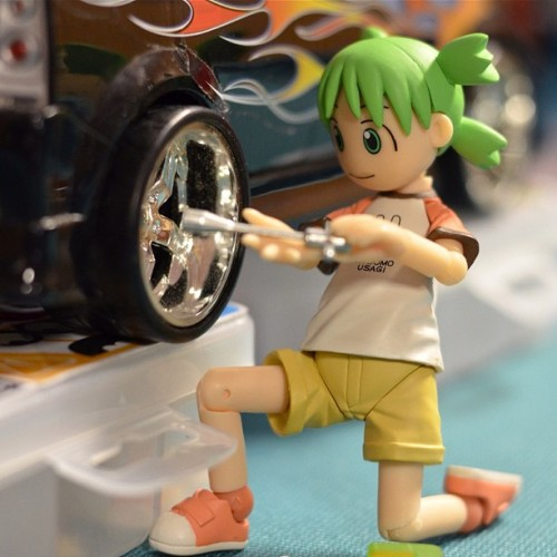 """I forgot to change my winter tires"" #toys #toyrevolution #toycrewbuddies #iphonesia #photooftheday #igers #igerspinoy #revoltech #toybuddypicks #toyphotography #yotsuba (Taken with instagram)"