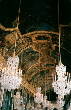 slutsneverdie:  thedjb:  Hall of Mirrors, Palace of Versailles, France - taken with a vintage film camera.   (via imgTumble)  Been here :)