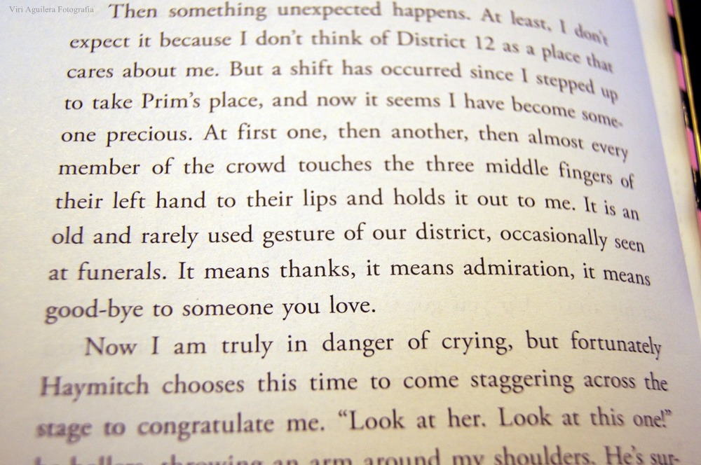 """It means thanks, it means admiration. It means good-bye to someone you love"""