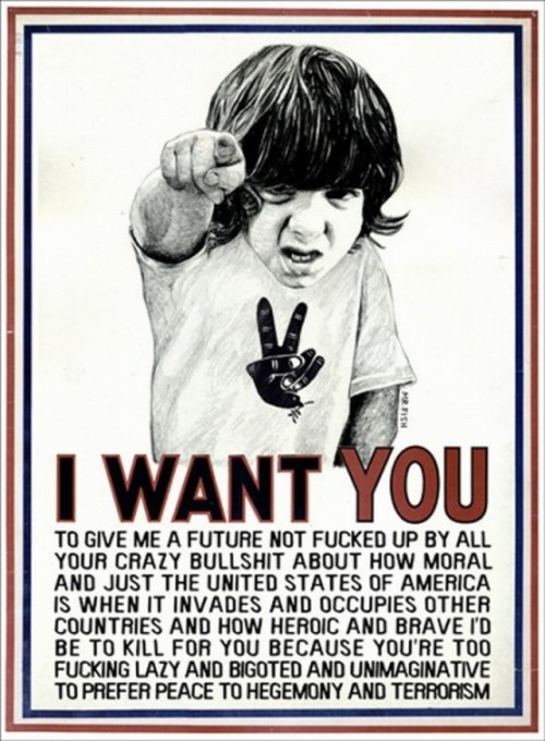 It's getting near #m1gs this #AmericanSpring. The youth are unemployed, and restless, and they're watching their future circle down the drain.  America should be scared of it's children.