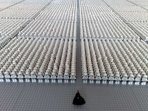 comeoutomeetme:  I would like this many lego stormtroopers for no obvious reason please