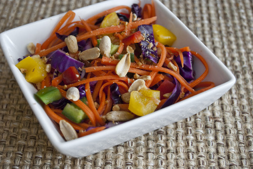 Red Cabbage and Carrot Slaw Source: @Cooking_Light Fresh Food Fast