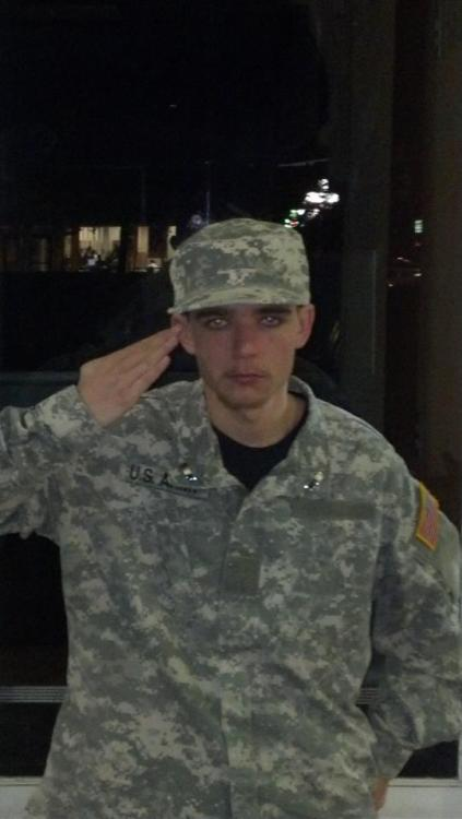 "Say hello to ""First Lieutenant"" Michael Wilson.. This scum of the earth is claiming to be a 1st LT in the Army, saying that he has deployed to Afghan and watched people die… BUT…if you look at his Uniform it is ALL wrong, its too big, Flags on wrong arm, no name tag, Army doesn't wear rank on collar they wear it in the middle of their chest, his PC is too big, and he also claims to be Special Forces yet he's holding a ""Glock"".. and so, so many other things. ""But why is this such a bad thing?"" Well, 1) Its against the law, plain and simple if someone is faking to be a government employee they deserve to go to jail! 2)It is HIGHLY disrespectful to those who actually have sacrificed their time, and some, their lives, to go serve and fight for our country overseas.   Long story short, spread this around, and make his name known. We need to get the medias attention onto this guy, so he can get his lovely prize of years in prison. Here is his page: http://www.facebook.com/pages/1LT-Michael-Wilson/260504527380439 And here is the page you need to like to help bring attention to him: http://www.facebook.com/PutMichaelWilsonInJail SPREAD THIS AROUND, SEND THIS GUY TO JAIL.  ""The phony war hero phenomenon … tarnishes the service of thousands of veterans who have served honorably,"" — Doug Carver"