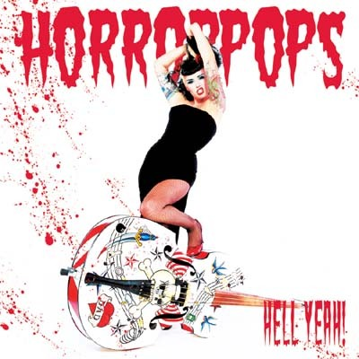 The Horrorpops. Honestly, I don't really like their music too much, but I like this chick.