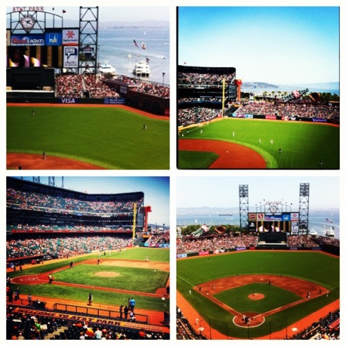 Fan pix from Sunday's game at AT&T Park