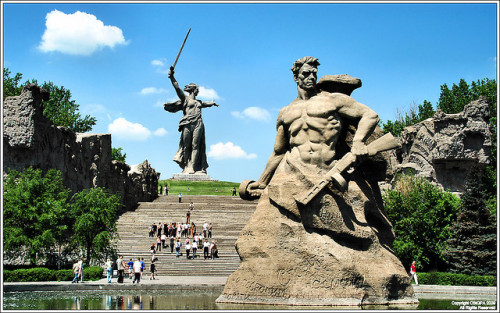 General Chuikov and Mother Russia, Volgograd, Russia - Summer by cstgpa on Flickr.