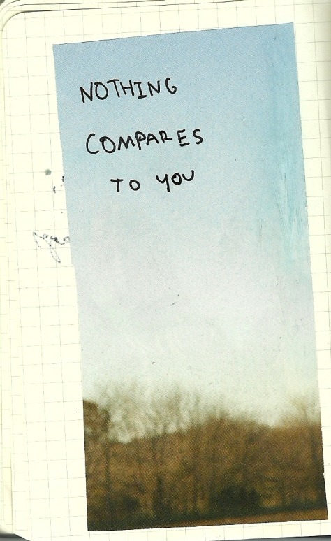 nothing compares to you.
