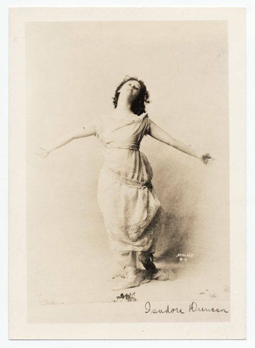 See this woman? This is Isadora Duncan. She was known as the mother of modern dance. She took ballet and turned it into contemporary dancing. She died when her scarf got caught in the wheel of the car she was in. She was known for wearing those scarves every day.  Writing Challenge: Write 1,000 words of a short story. Make a scarf the main motif. The main character's sister is a dancer. You have one hour.