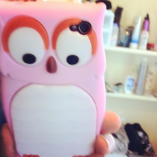 New #owl #case #iphonecase #owlcase #owliphonecase #cute #huge (Taken with instagram)