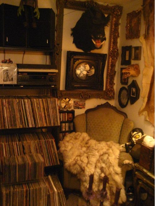 Amazing record collection. Amazing everything.