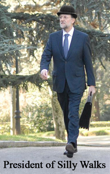 President of Silly Walks