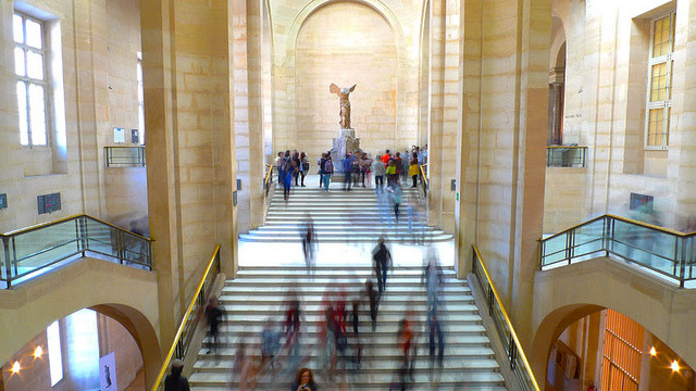 | ♕ |  Nike of Samothrace - Louvre, Paris  | by © KP!!!