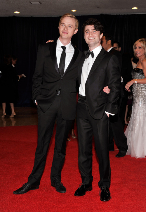verysherry:  Ronan Farrow and Daniel Radcliffe | 98th Annual White House Correspondents' Association Dinner - April 28, 2012