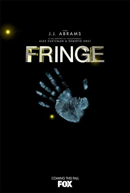Fringe is my favourite thing on TV right now. It's so good I can't stand it..